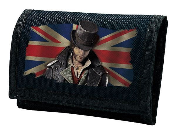 """Assassin's Creed Syndicate - """"Jacob Union Jack"""" Navy Kids Wallet"""