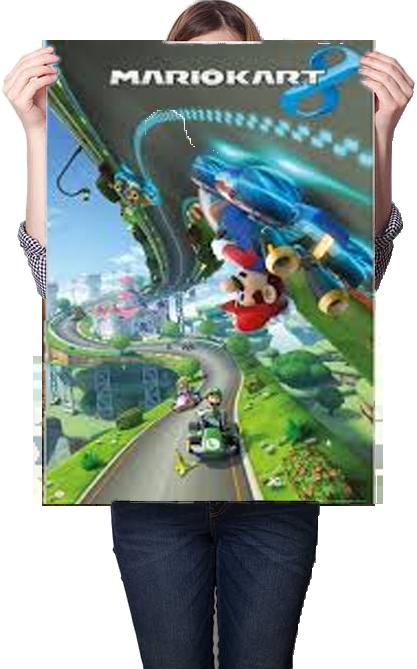 Nintendo Mario Kart 8 Poster 61x91.5