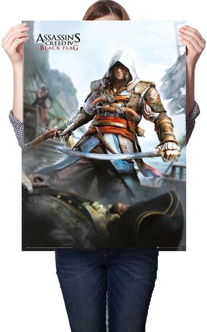 Assassins Creed 4 Black Flag Poster 61x91.5