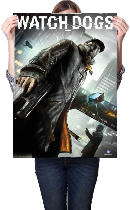 Watch Dogs Poster 61x91.5
