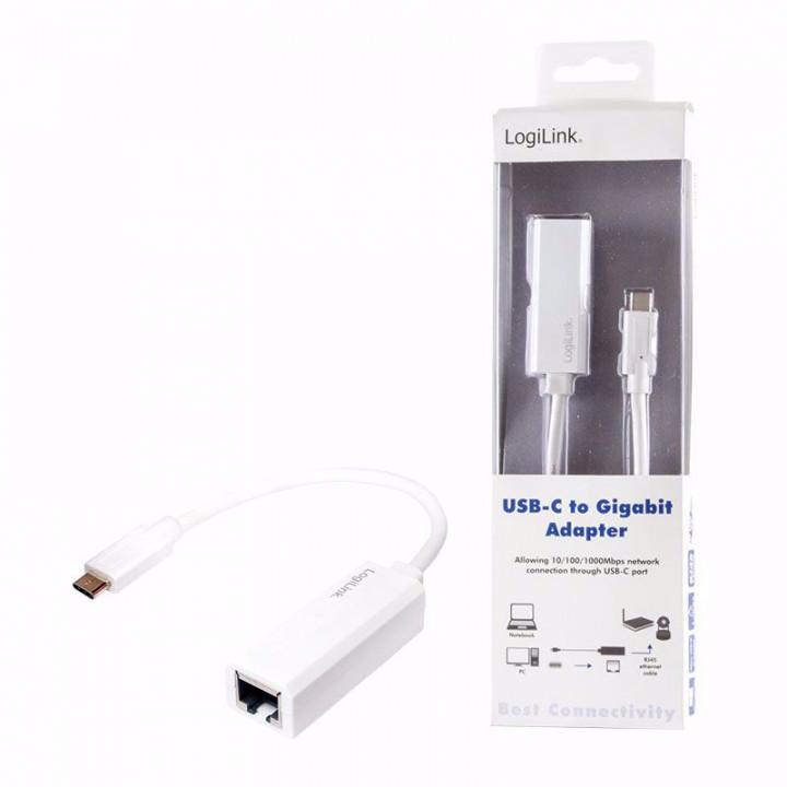 Logilink UA0238 USB-Type C to Gigabit Adapter