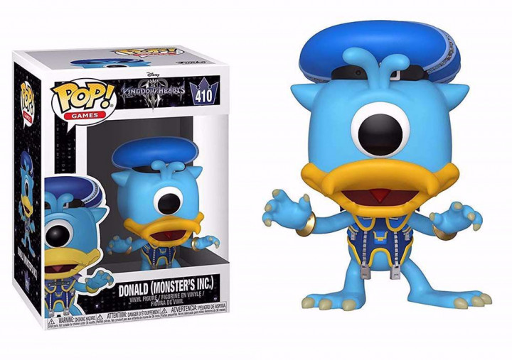 POP! Games - Kingdom Hearts 3: Donald (Monsters Inc.) #410