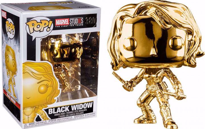 POP! Marvel Studios - Black Widow (Chrome) #380