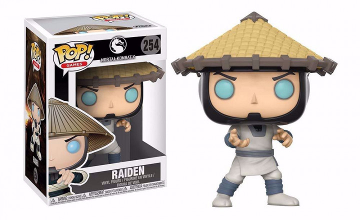 POP! Games: Mortal Kombat X - Raiden #254