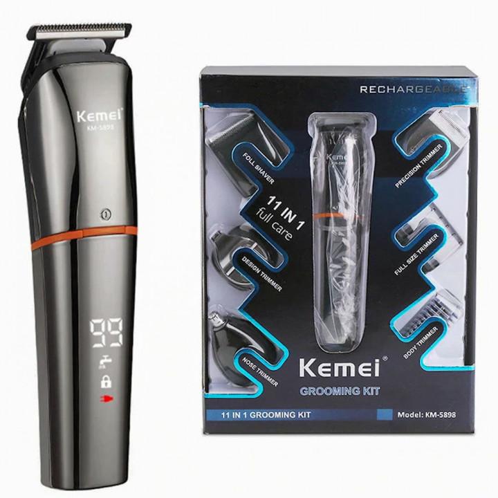 Kemei KM-5898  Grooming Kit 11 in 1
