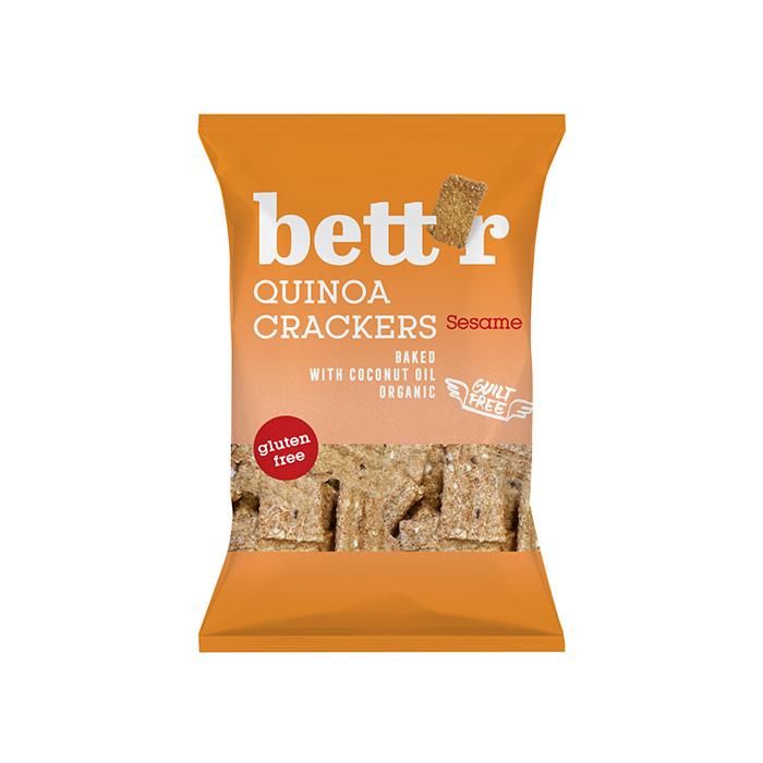 Quinoa crackers sesame GLUTEN FREE 100g