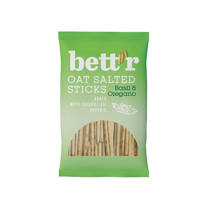 Oat Salted Sticks Basil & Oregano 50g