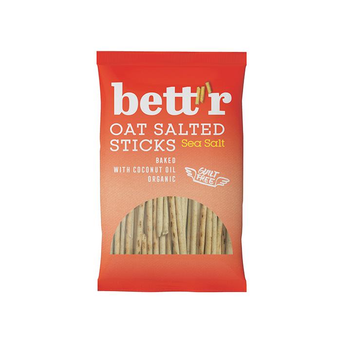 Oat Salted Sticks Sea Salt 50g