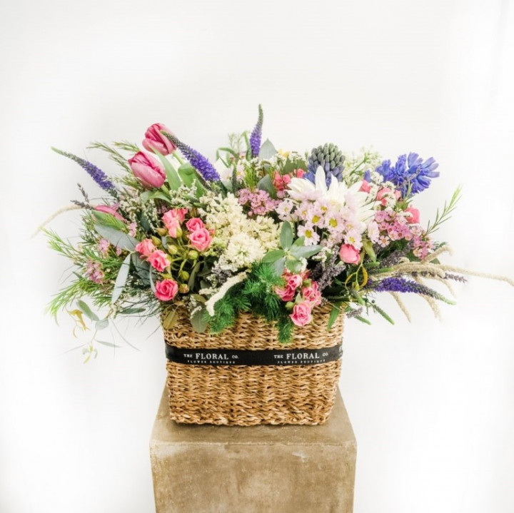 Fresh Flower basket rectangular