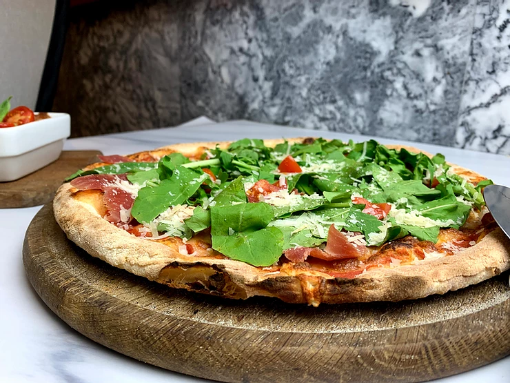 GREEN FOODS PIZZA GRECA 625G