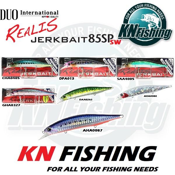 DUO REALIS JERKBAIT 85SP SALTWATER HARD FISHING LURES 85mm 8gr - ADA0088