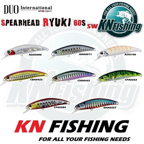 DUO SPEARHEAD RYUKI 60S SW FISHING LURES 60mm 6.5gr - GHA0327