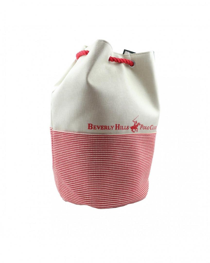 Beach Bag Beverly Hills Polo Club - red