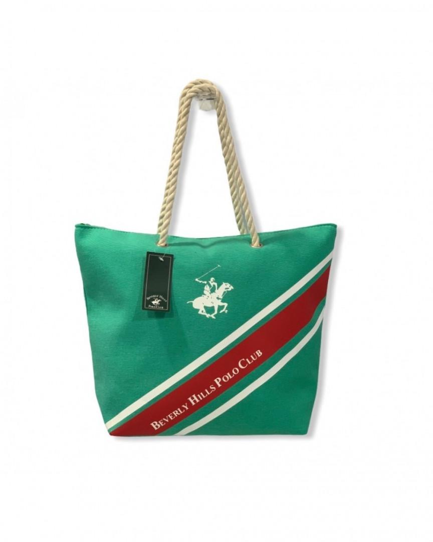 Beach Bag Beverly Hills Polo Club - green
