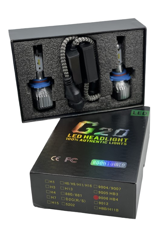 G20 LED HEADLIGHT 100% AUTHENTIC LIGHTS - H4