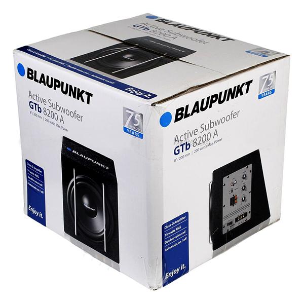 BLAUPUNKT woofer with a box amplifier - active subwoofer GTb 8200 A