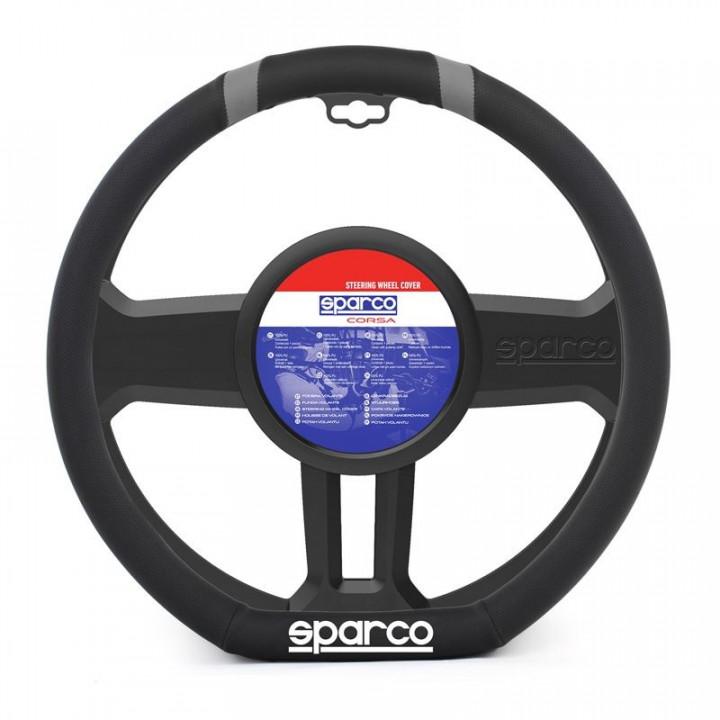 sparco corsa steering wheel cover