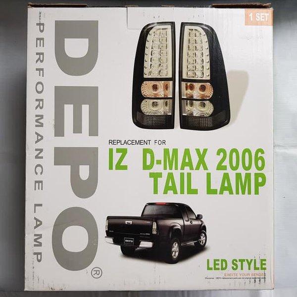 IZ D-MAX 2006 TAIL LAMP