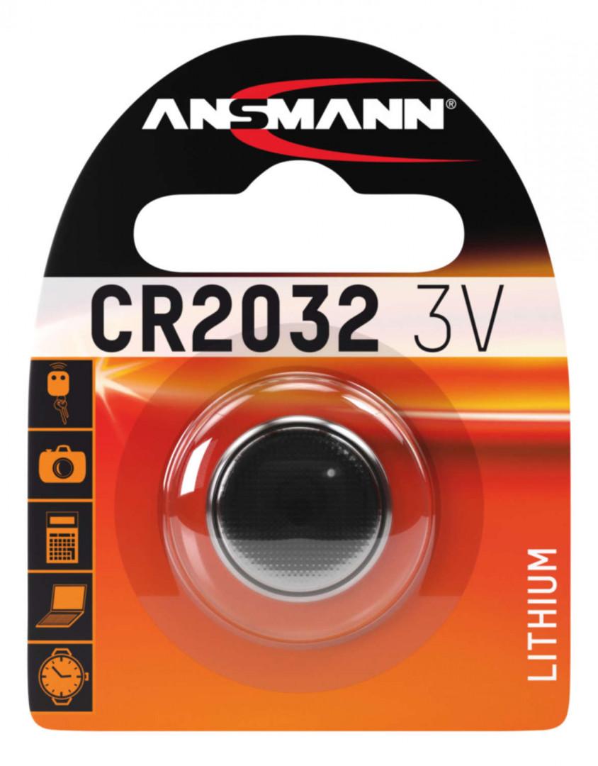 Ansmann Lithium Coin cell CR2032