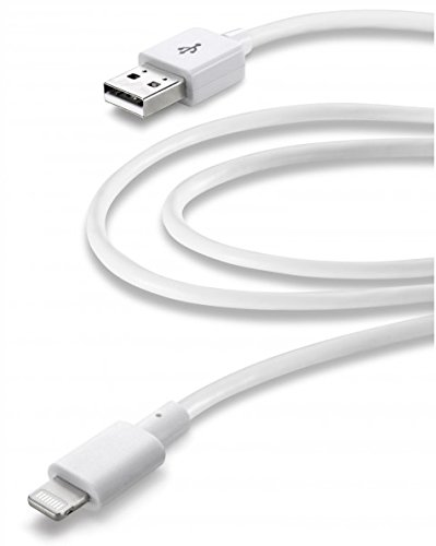 Cellular Line, USB Cable Home XL - Lightning, White
