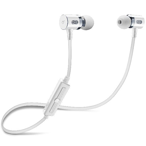 Cellularline Magnetic Motion in-ear stereo Bluetooth earphones White