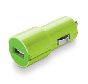 Cellular Line USB CAR CHARGER 2A GREEN