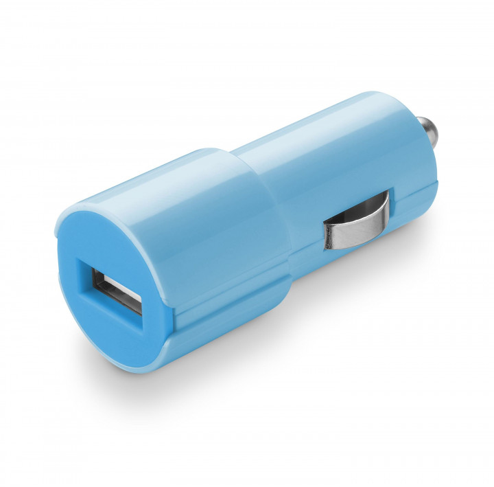 Cellular Line USB Car Charger Fast Charge #Stylecolor - Blue