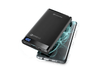 Cellular Line Power Bank 8000Mah UBS/USB-C  Qualcomm Quick Charge 3.0 BLACK