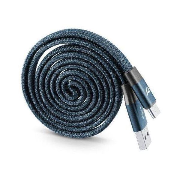 Yo-Yo Cable Rewindable type-C Blue