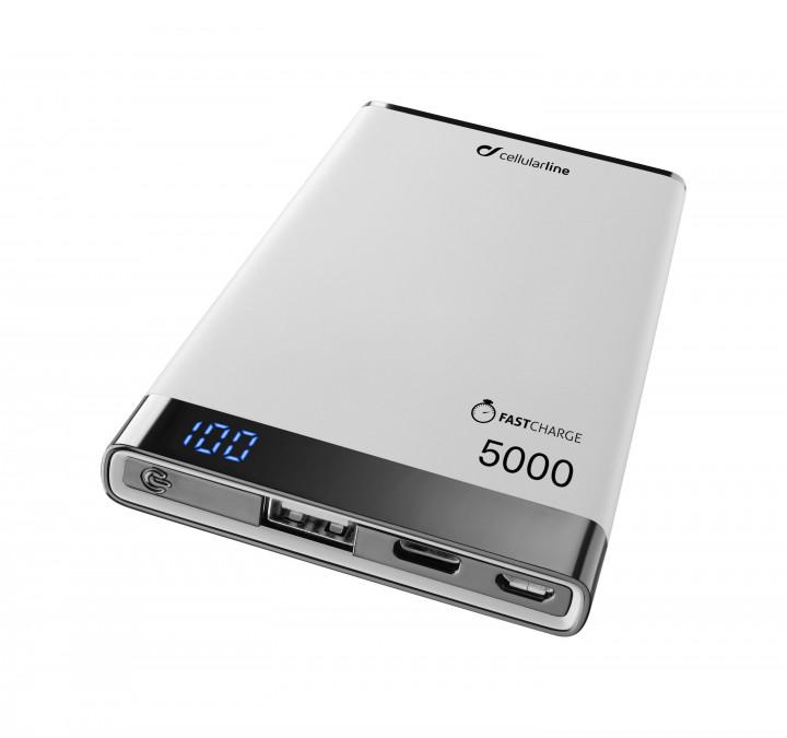 Cellularline Powerbank Manta S 500 USB C White