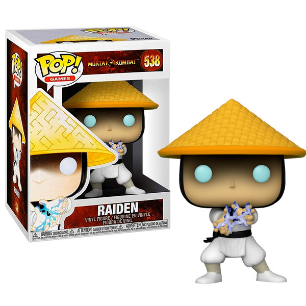 Funko POP! Games: Mortal Kombat - Raiden #538