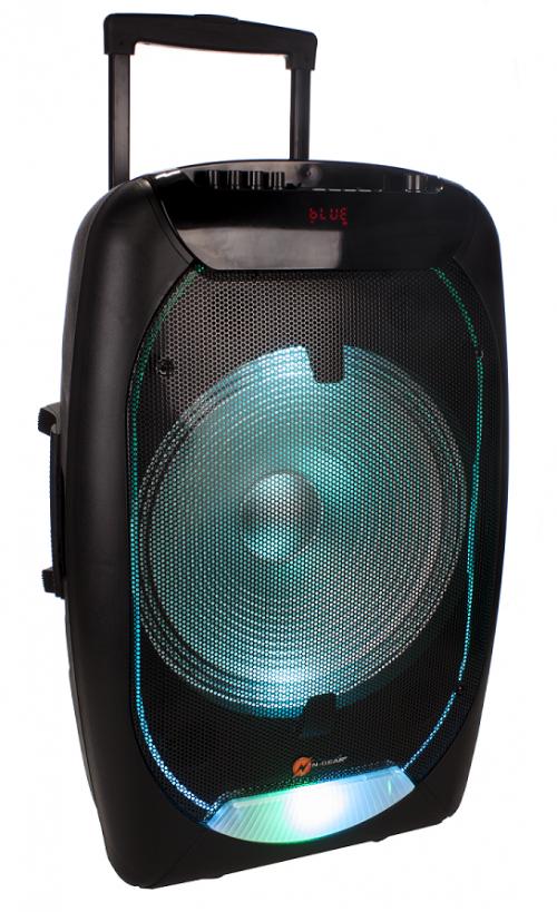 N-Gear FLASH1510 15'' Portable Karaoke Speaker BT/USB/Mic