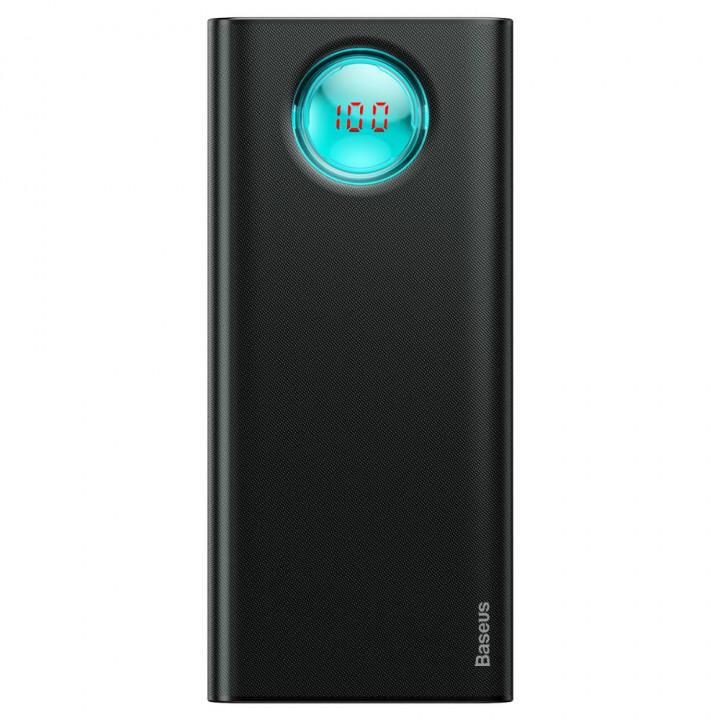 Baseus Power Bank Amblight with Display PD3.0, QC3.0 18W 20000 mAh Black