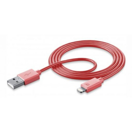 USB DATA CABLE MFI IPH5 PINK