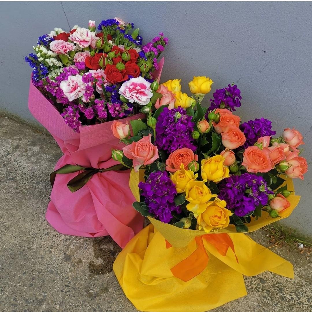 Seasonal Colorful Flower Bouquet