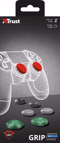 Thumb Grips 8-pack for PlayStation 4 controllers