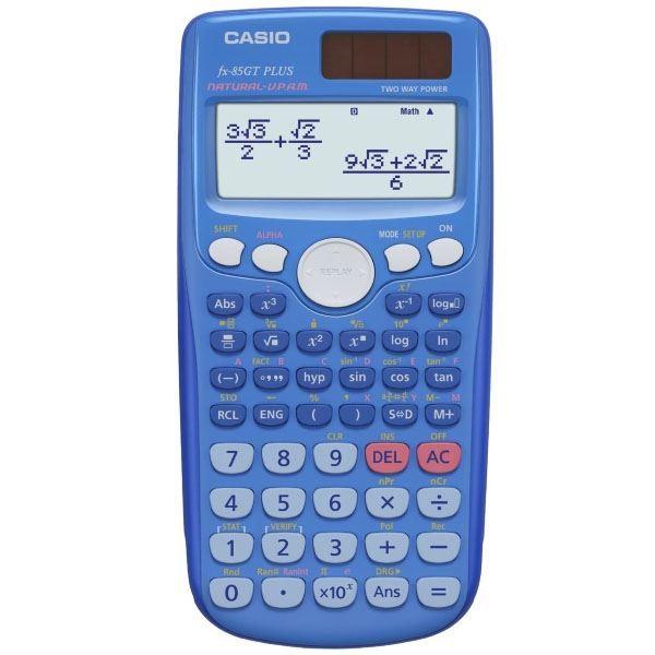 Casio FX-85GT Plus Scientific Calculator blue