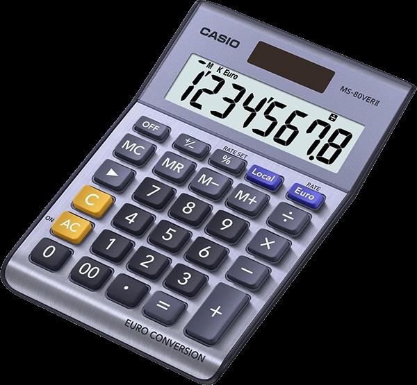 CASIO Calculator MS-80 VER II Office calculator