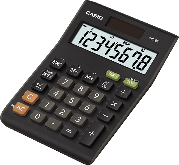 Casio Calculator MS-8B computer