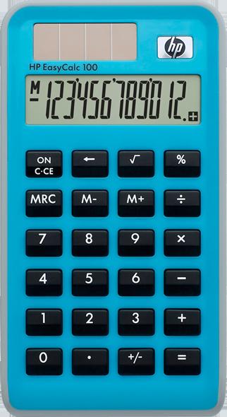 HP EasyCalc 100