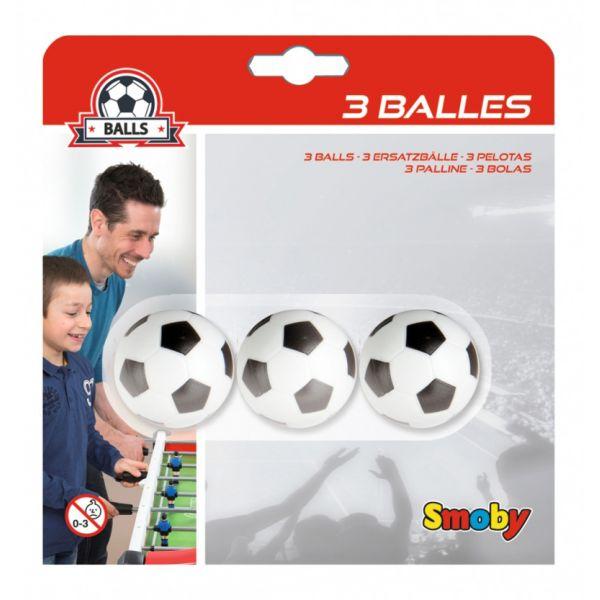 Soccer table balls - pack of 3
