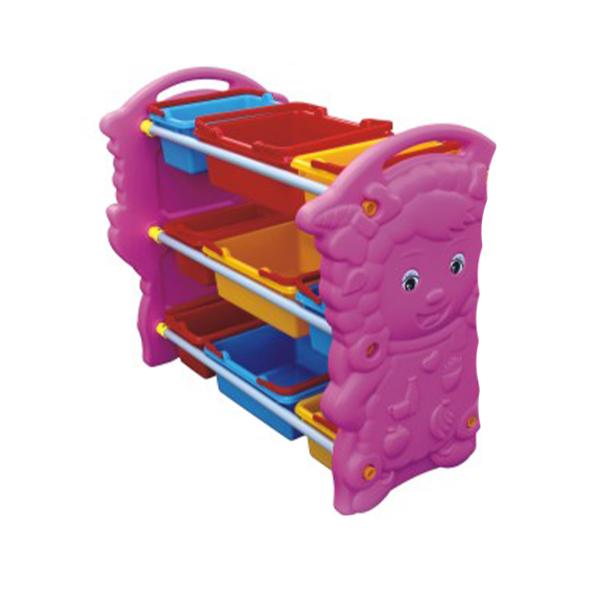 Pink storage unit