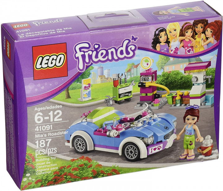 LEGO Friends 41091 Mia's Roadster (Discontinued by manufacturer) 6-12 AGES