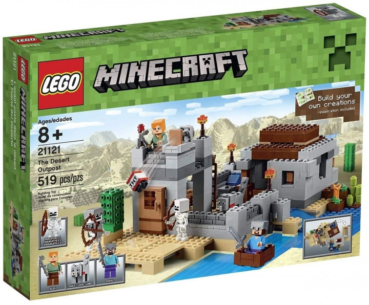 LEGO 21121 Minecraft The Desert Outpost 8+ AGES