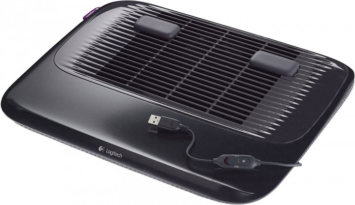 Logitech Cooling Pad N200 with USB Powered Fan