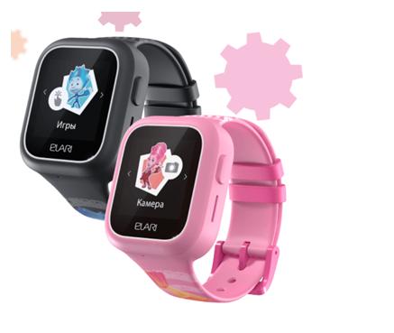 Παιδικό Smartphone ELARI Fixitime Lite - Pink