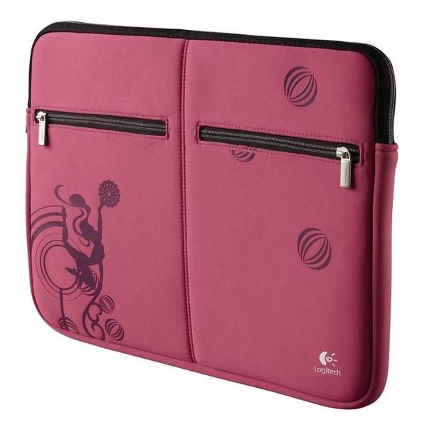 "Logitech 15.6"" Fantasy Laptop Sleeve - Pink Balance"