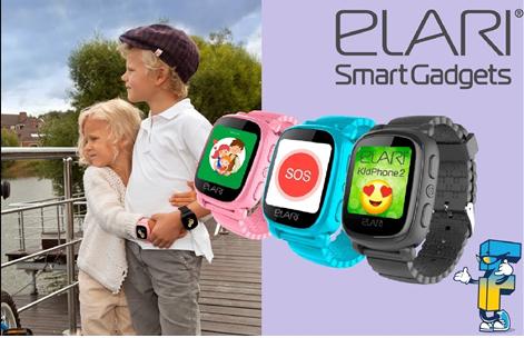Παιδικό Smartphone ELARI KidPhone2 - Black
