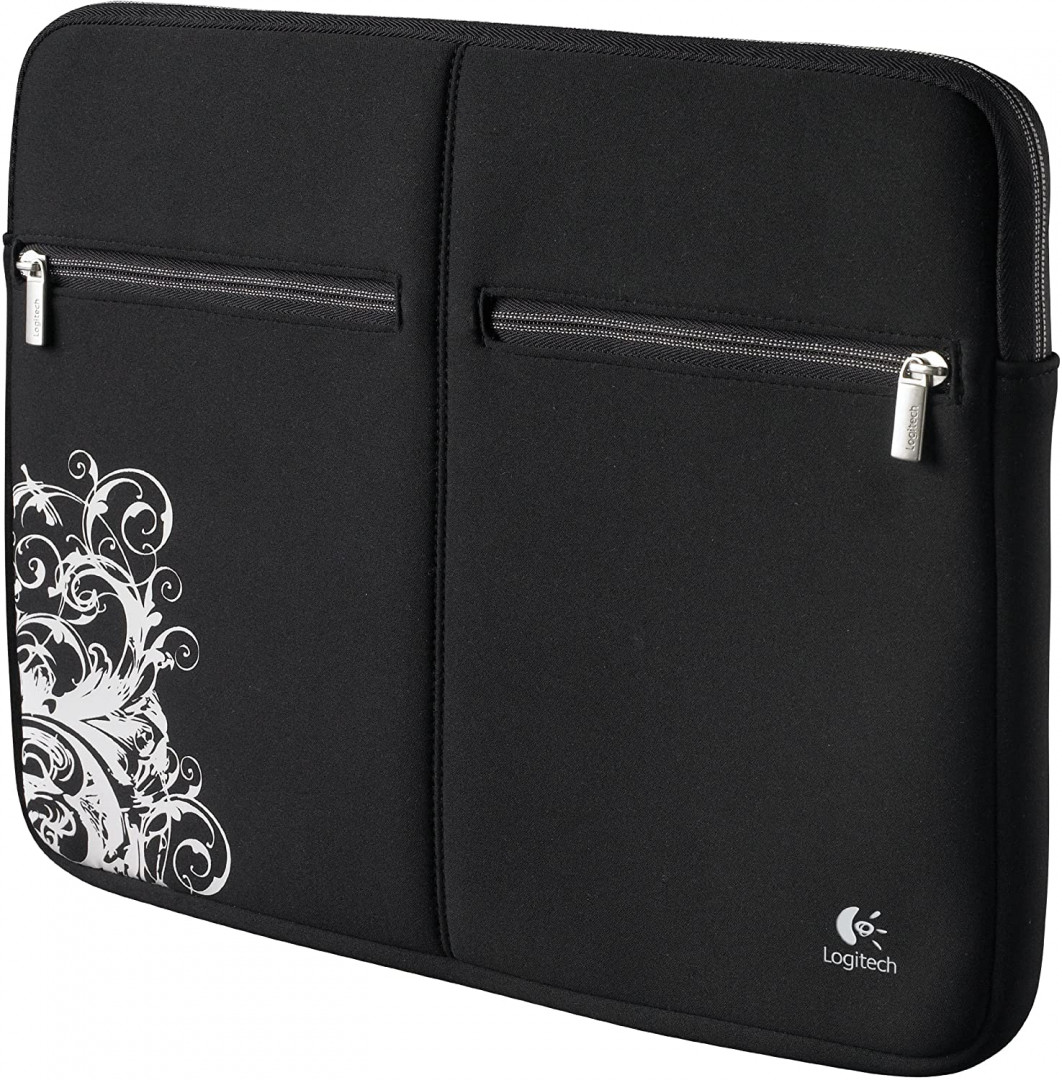 Logitech 15.6 inch Notebook Sleeve - Fleur Dark