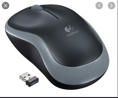 Logitech M180 wireless mouse black